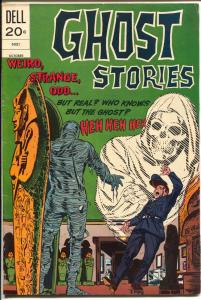 Ghost Stories  #37 1973-Dell-Egyptology issue-mummy cover & story-FN