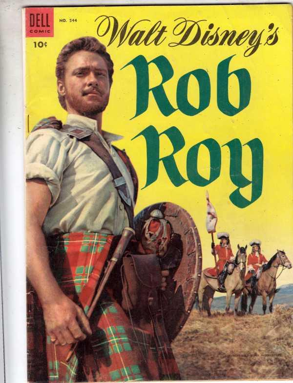 Four Color #544 (Jan-54) VG/FN+ Mid-Grade Rob Roy