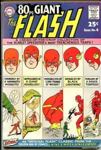 8O PAGE GIANT-#4-THE FLASH-RARE-Nice VG/FN