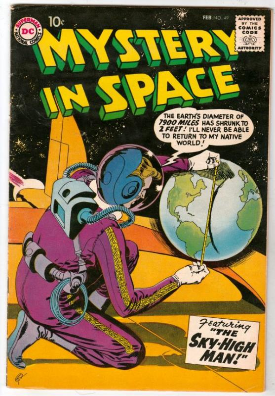 Mystery in Space #49 (Feb-59) VF High-Grade