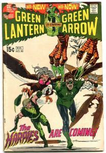 GREEN LANTERN #82 1971-HARPIES-WRIGHTSON-DC COMICS vg