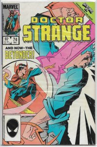 Doctor Strange (vol. 2, 1974) #74 VG (Secret Wars II) Gillis/Badger