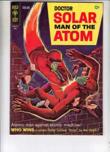 Doctor Solar Man of the Atom #19 (Apr-67) VF+ High-Grade Doctor Solar