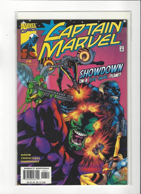 Captain Marvel #6 (2002) Marvel Comics NM