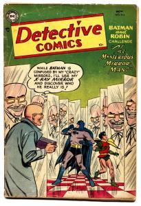 DETECTIVE #213 comic book 1954-DC-1st mirror man-BATMAN-ROBIN-MYSTO