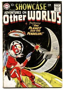 SHOWCASE  #17-1958-DC-First appearance of ADAM STRANGE comic book