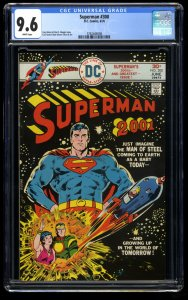Superman #300 CGC NM+ 9.6 White Pages