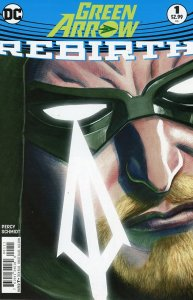 Green Arrow: Rebirth 1  9.0 (our highest grade)  2016  Otto Schmidt Art