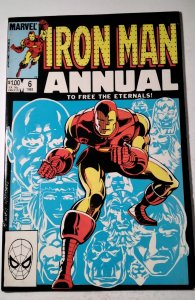 Iron Man Annual #6 (1983) Marvel Comic Book J757