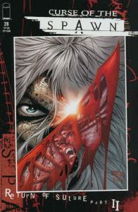 Curse of the Spawn #28 VF/NM; Image | save on shipping - details inside