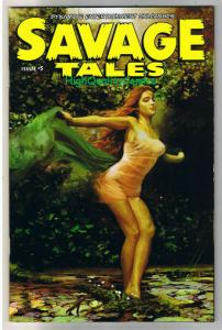 SAVAGE TALES #5, VF/NM, Arthur Suydam, Red Sonja, Femmes, 2007, more RS in store