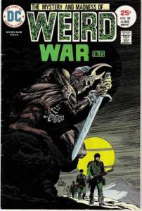 Weird War Tales (1971 series) #38, VG+ (Stock photo)