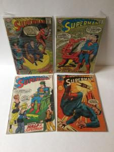 Superman 211 220 223 234 All 3.5 Vg- Very Good - Or Better