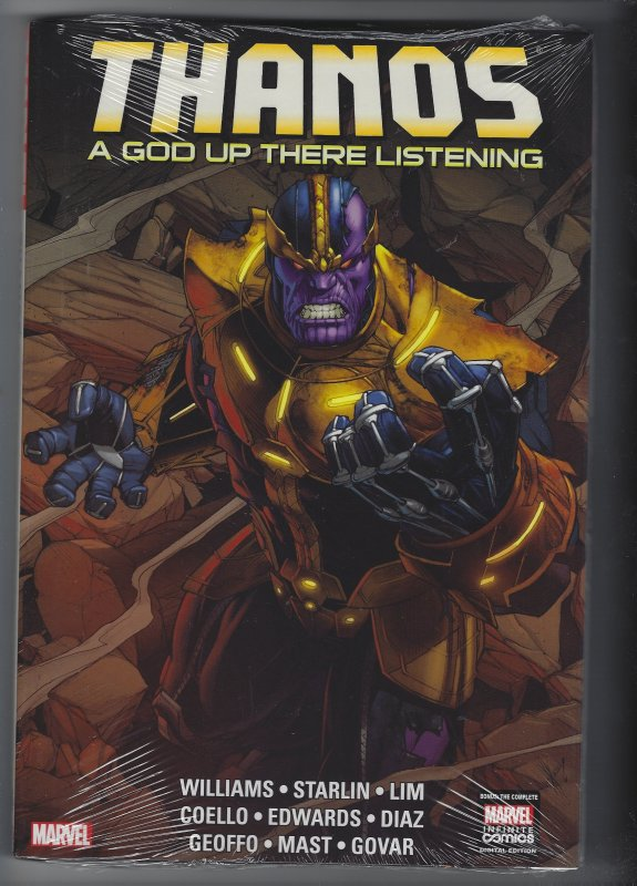 THANOS: A GOD UP THERE LISTENING HARDCOVER