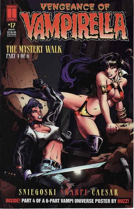 Vengeance of Vampirella #17 FN; Harris | save on shipping - details inside