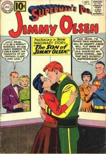 Superman's Pal Jimmy Olsen (1954 series) #56, VG (Stock photo)