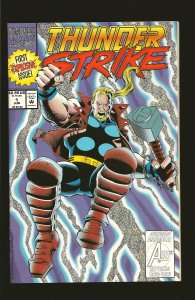 Marvel Comics Thunder Strike Vol 1 No 1 June 1993