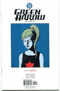 Green Arrow #44 2005 - HIV AIDS issue- Mia Dearden DC Comics NM