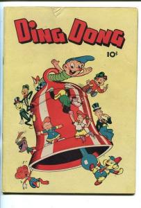 DING DONG #1-1946-ROBOTS-MONKEYS-SOUTHERN STATES PEDIGREE-fn/vf