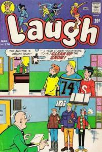 Laugh Comics #276, Good- (Stock photo)
