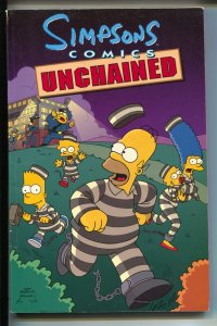 Simpsons Comics: Unchained- Ian Boothby-TPB-trade