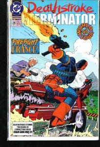Deathstroke the Terminator #28 (1993)