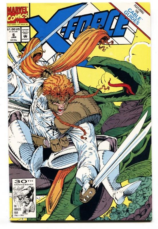 X-FORCE #6-comic book -First Phantazia (Eileen Harsaw) Marvel