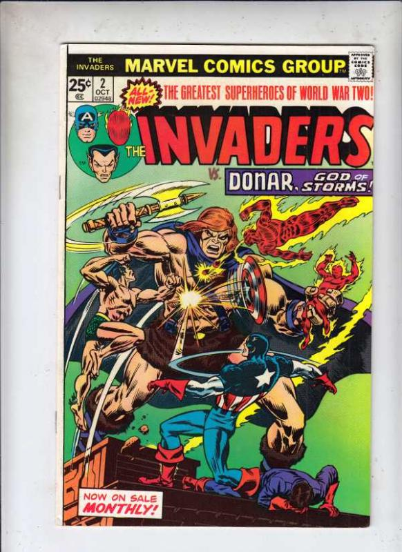 Invaders,The #2 (Oct-75) VF/NM High-Grade The Human Torch