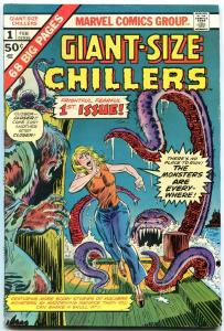 Giant-Size Chillers #1 1975- Marvel Bronze Age FN