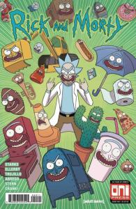 RICK and MORTY #40, 1st, VF/NM, Grandpa, Oni Press, from Cartoon 2015