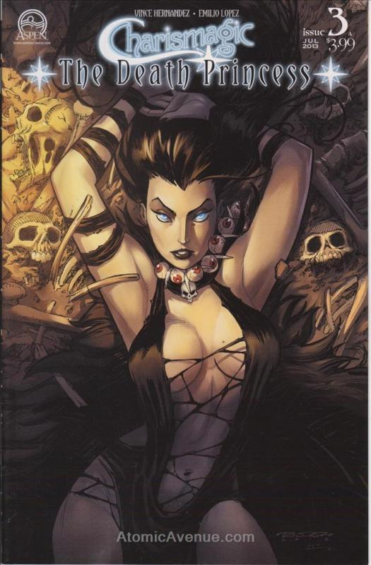 Charismagic: The Death Princess #3A VF/NM Aspen - save on shipping - details ins