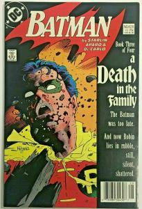 BATMAN#428 FN/VF 1988 'A DEATH IN THE FAMILY' DC COMICS