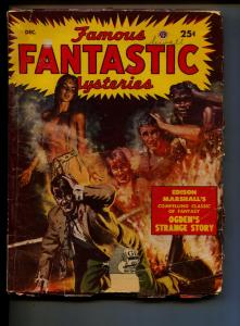 Famous Fantastic Mysteries-Pulp-12/1949-Edison Marshal
