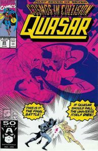 Quasar #25 VF/NM; Marvel | save on shipping - details inside
