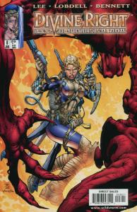 Divine Right #8 VF/NM; Image | save on shipping - details inside