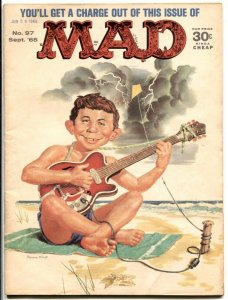 MAD Magazine #97-1965-Mingo-Martin-Jaffee-Drucker- FN