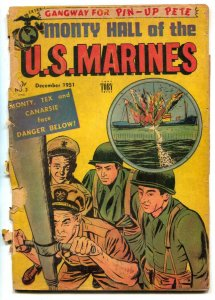 Monty Hall Of The US Marines #3 1951- reading copy FAIR