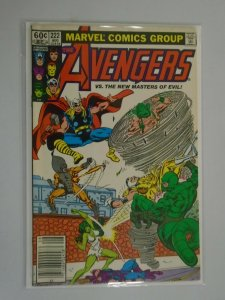 Avengers #222 Direct edition 6.0 FN (1982 1st Series)