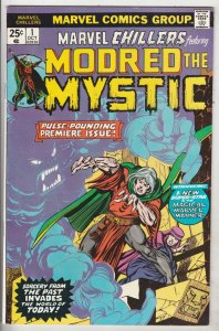 Marvel Chillers #1 (Oct-75) VF High-Grade Modred the Mystic