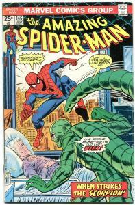 AMAZING SPIDER-MAN #146 1975-MARVEL COMICS-SCORPION vg