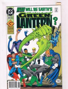 Green Lantern #25 VF 1st Print DC Comic Book Batman Hal Jordan DE2