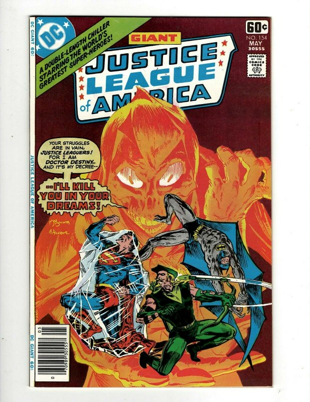 Lot Of 6 Justice League Of America DC Comic Books # 154 155 156 157 158 159 GK34