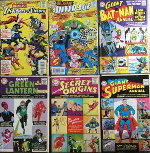 DC COMICS PRESENTS SILVER AGE REPRODUCTIONS WITH ORIGINAL ADS.7 BOOK LOT NM