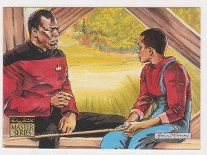 1993 Skybox Star Trek Master Series #80 Fishing Hole