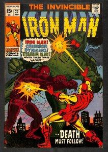 Iron Man #22 VG/FN 5.0 Marvel Comics