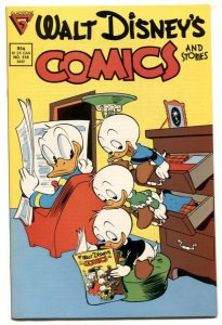 Walt Disney's Comics and Stories #518 1987- Infinity cover VF/NM