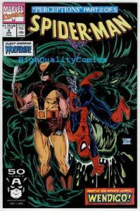 SPIDER-MAN #9, NM+, Todd McFarlane, 1990, Wolverine, more SM in store