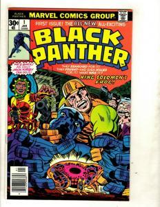 Black Panther # 1 VF/NM Marvel Comic Book Jack Kirby Wakanda Avengers Hulk GK1