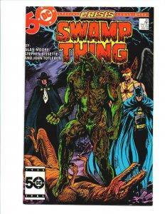 Swamp Thing #46 - Alan Moore - Batman - Crisis on Infinite Earths - VF/NM