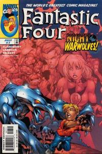 Fantastic Four (1998 series) #7, NM (Stock photo)